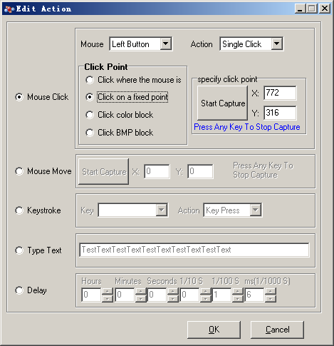 Macro Recorder and Mouse Auto Clicker