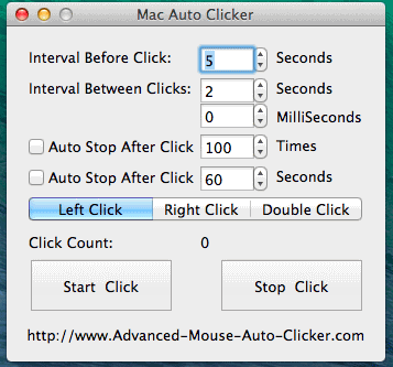 Mac Auto Clicker